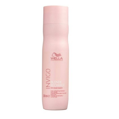 SHAMPOO DESAMARELADOR - WELLA INVIGO BLONDE RECHARGE 250ml