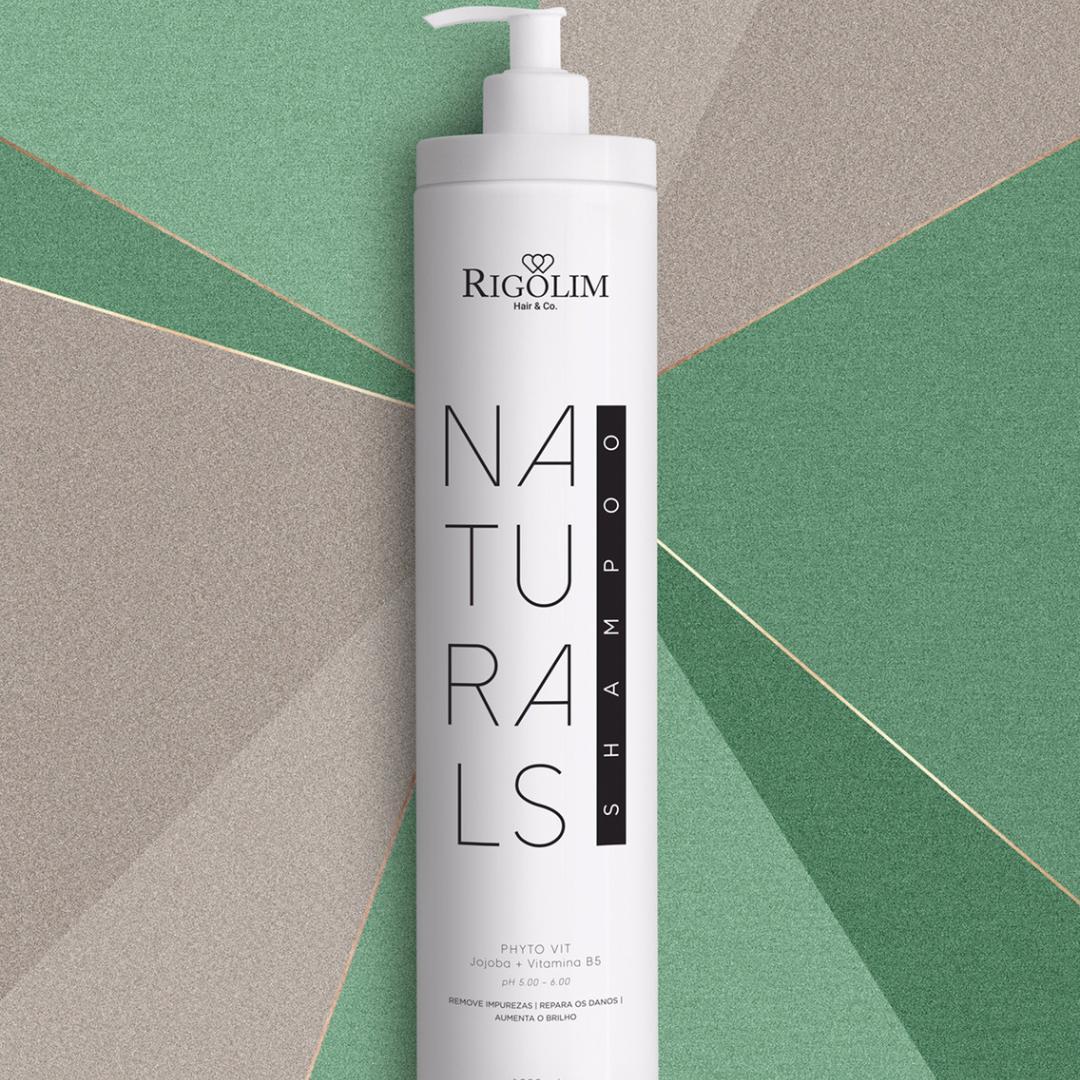 SHAMPOO NATURALS - RIGOLIM HAIR & CO 1L
