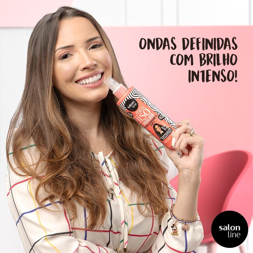 SPRAY TEXTURIZADOR - SALON LINE MEU LISO ONDULADO 240ml