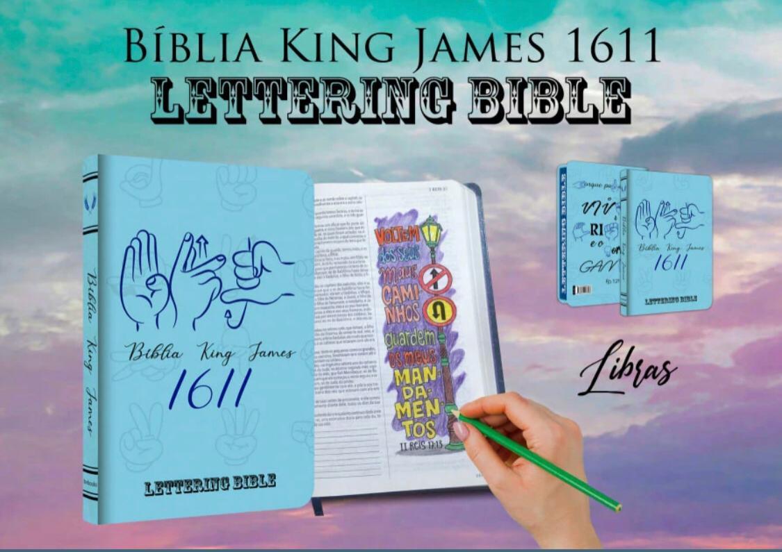 BIBLIA LETTERING BIBLE LIBRAS BV
