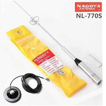 Antena Dual Nl 770 P/porta Mala P/ /radio Yaesu Ou Vertex