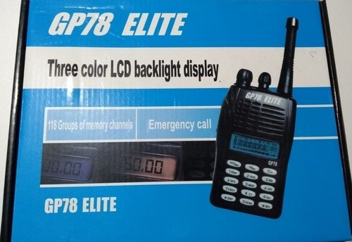 RADIO GP78 UHF