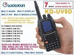 Radio Wouxun Kg-uv9d Plus 7 Band Aviação Cross-band Repter