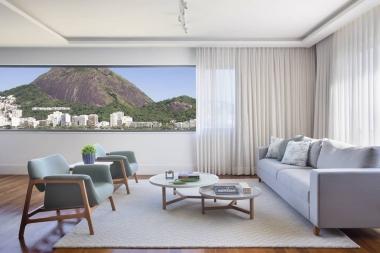 Tapete New Nicholas Orvalho | Living Quarto Home Sala de Estar Jantar TV Personalizado Sob Medida Antialérgico Nylon Neutro Contemporâneo Off White