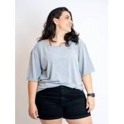 Blusa Básica Oversized Plus Size