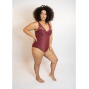 Body Bojo Com Renda Calvin Klein Plus Size