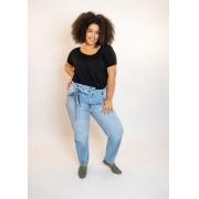 Calça Jeans Clochard Delave Plus Size