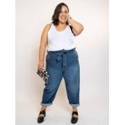 Calça Jeans Clochard Plus Size Blue Jeans