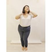 Calça Jeans Plus Size Super Skinny Blue