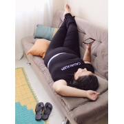 Pijama Viscolight Calvin Klein Plus Size - Preto