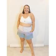 Short Jogger Plus Size Tie Dye de Algodão