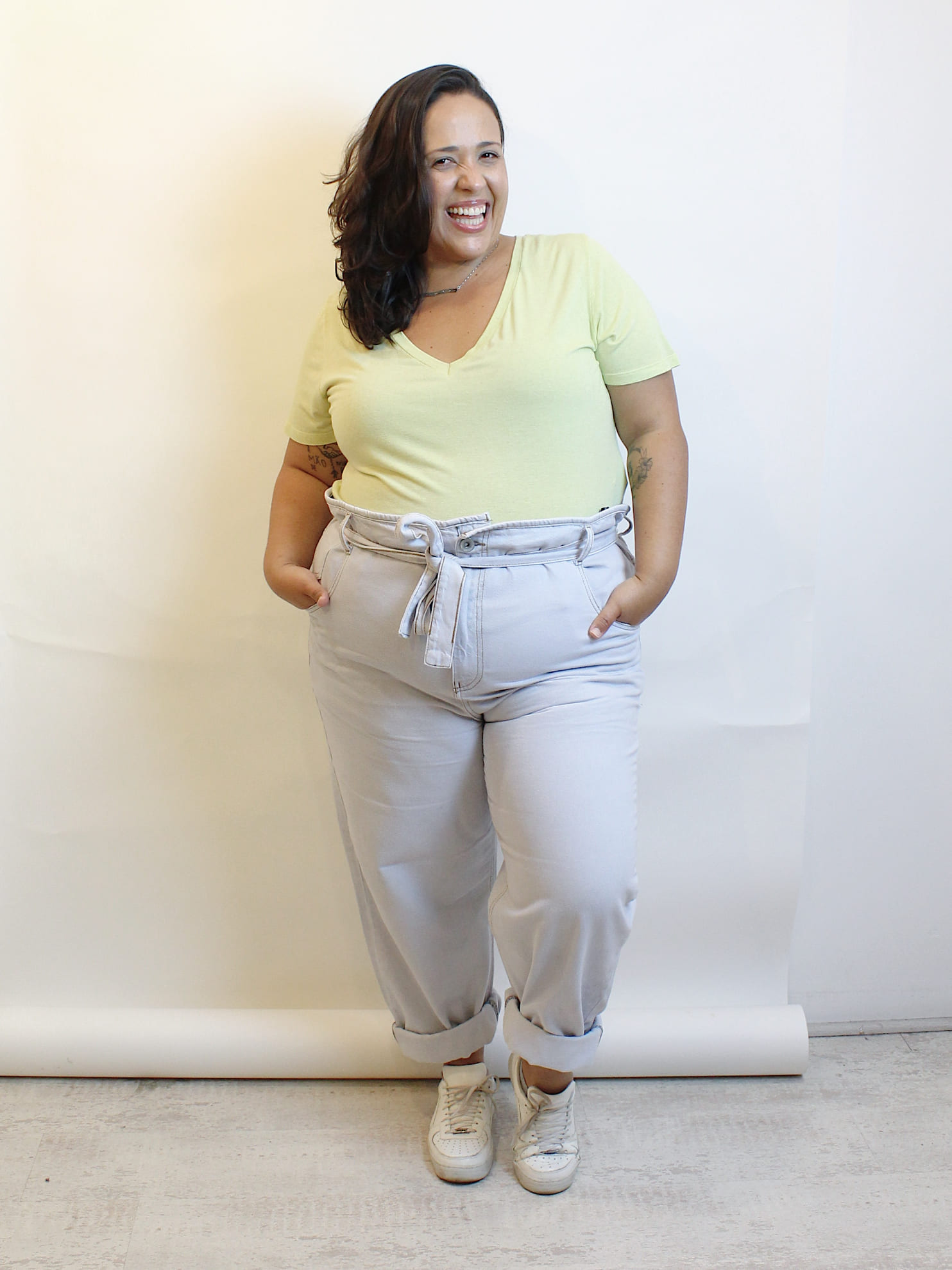 Calça Jeans Clochard Ultra Washed Plus Size