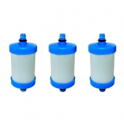 Vela Refil De Filtro Pro Saúde Injet Plast 75mm (kit Com 3)