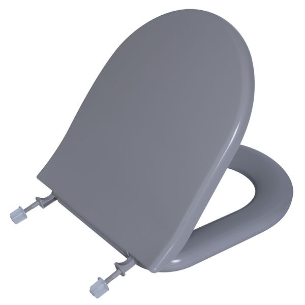 Assento Calypso Almofadado Cinza Platina  Astra