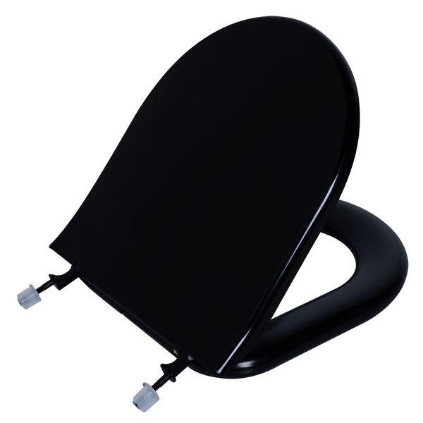 Assento Calypso Almofadado Preto  Astra