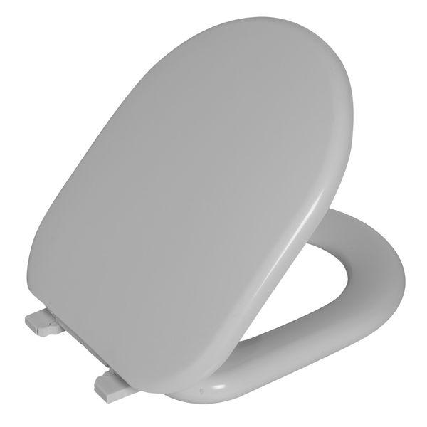 Assento Carrara Almofadado Branco Gelo  Astra
