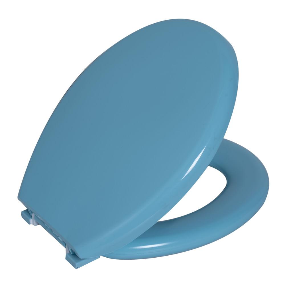 Assento Oval Almofadado Azul Claro 1 Astra