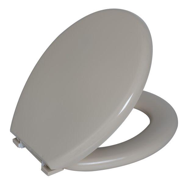 Assento Oval Almofadado Bege 5 Astra
