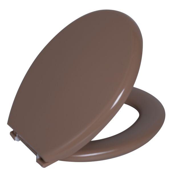 Assento Oval Almofadado Bege 6  Astra