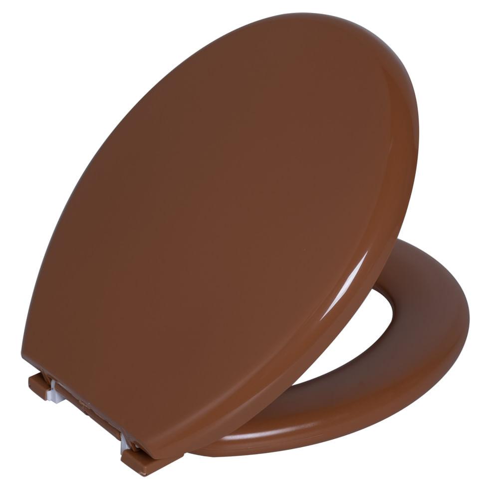 Assento Oval Almofadado Caramelo Claro 2 Astra