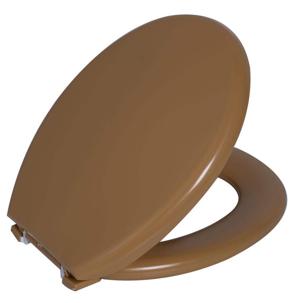 Assento Oval Almofadado Amarelo 4 Astra