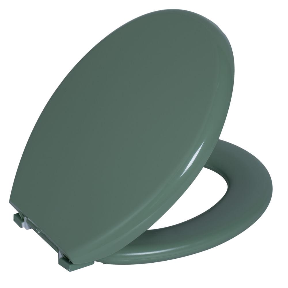 Assento Oval Almofadado Verde 3  Astra