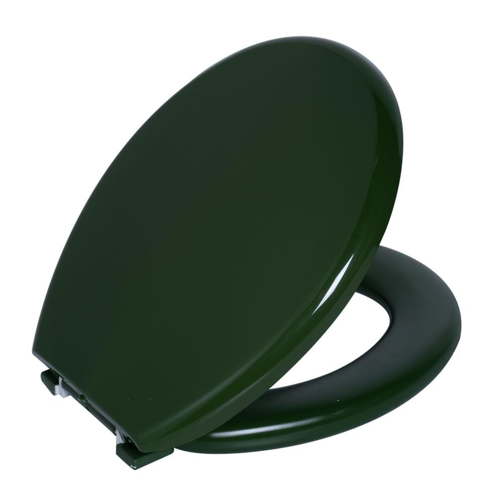 Assento Oval Almofadado Verde 5  Astra