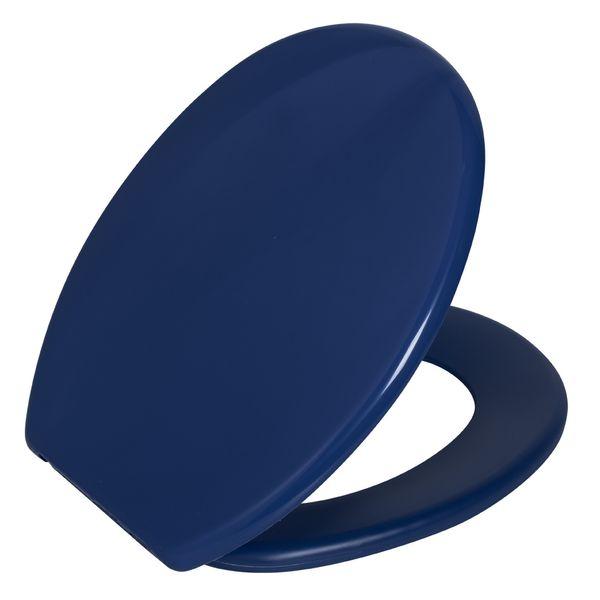 Assento Oval Soft Azul Médio 11   Astra