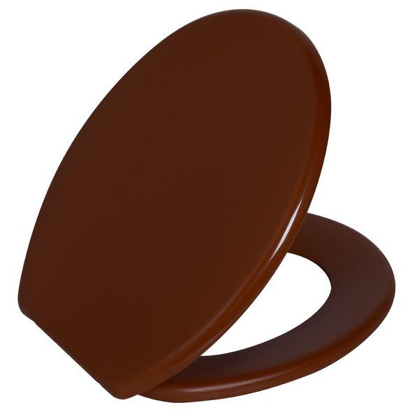 Assento Oval Soft Caramelo Escuro 1 Astra