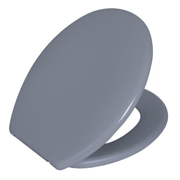 Assento Oval Soft Cinza Claro 2 Astra