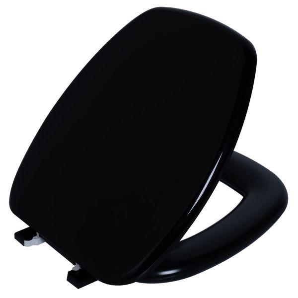 Assento Thema Almofadado Preto  Astra