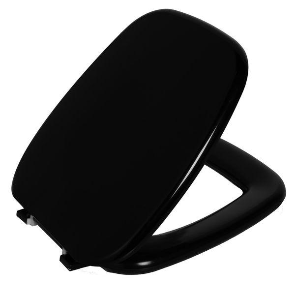 Assento Versato Almofadado Preto  Astra