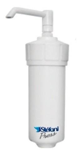 Filtro Copo Stefani Em Abs Branco Com Vela Cerâmica