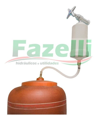 Kit Boia P/tampa + Mangueira + Registro + Adaptador + Boia