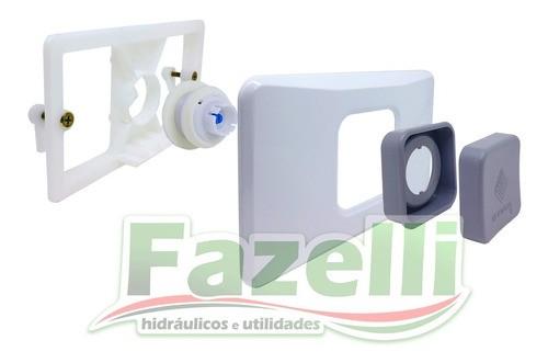 Kit Completo Reparo Caixa Descarga Branco Montana