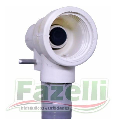 Kit Completo Reparo Caixa Descarga Brasilit Branco Original