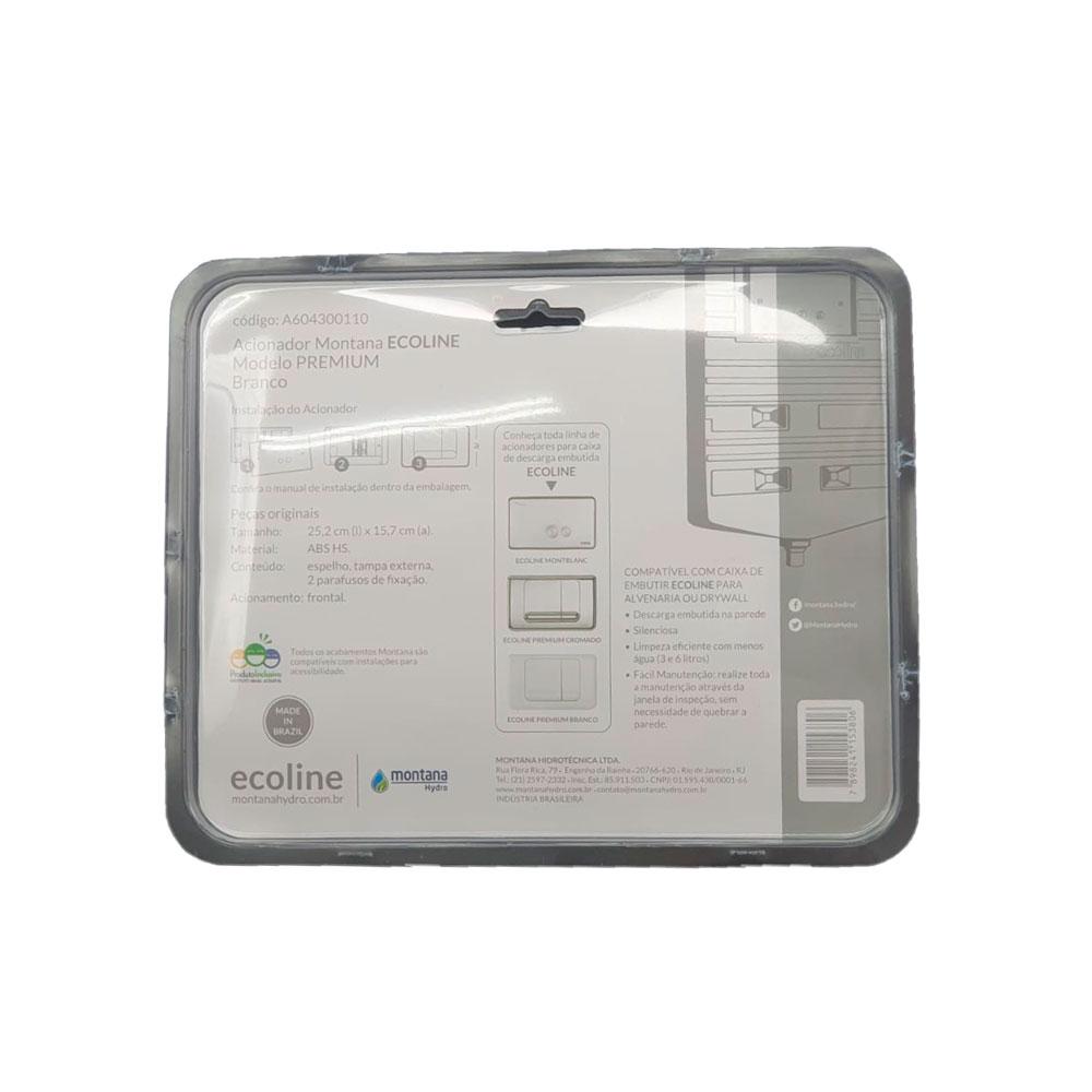 Kit Completo Reparo Caixa Descarga Ecoline Montana