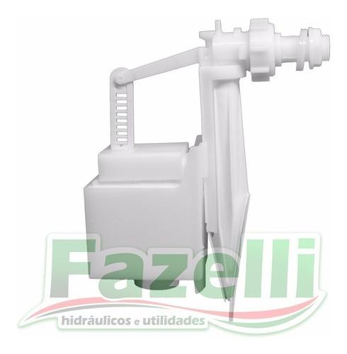 Kit Completo Reparo Caixa Descarga Elegance Branco Montana
