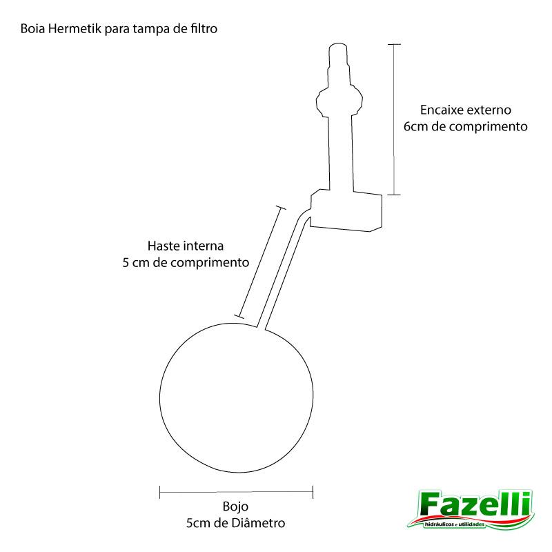 Kit Para Automatizar O Filtro De Barro Com 1 Boia Da Vela