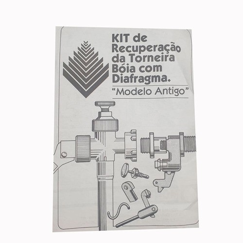 Kit Recuperação Torneira Boia Com Diafragma Montana