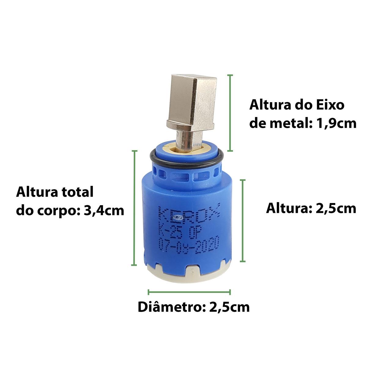 Reparo para torneira Monocomando Bistrô Original Docol 00632000