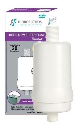 Refil De Bebedouro Hidro Filtros New Filter Flow