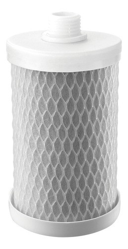 "Refil de Filtro POU Carbon Block 5"" Rosca Planeta Água"