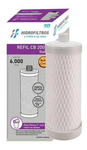 Refil Ff 200 Para Filtro Máquina Rosca Hidro Filtros