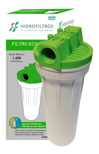 """Refil Mid 9.3/4"""" Para Filtro Caixa D'água Encaixe Hidro Filtros"""