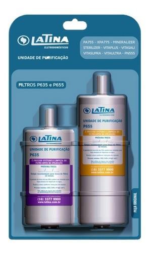 Refil para Purificador Latina Duplo P635 + P655