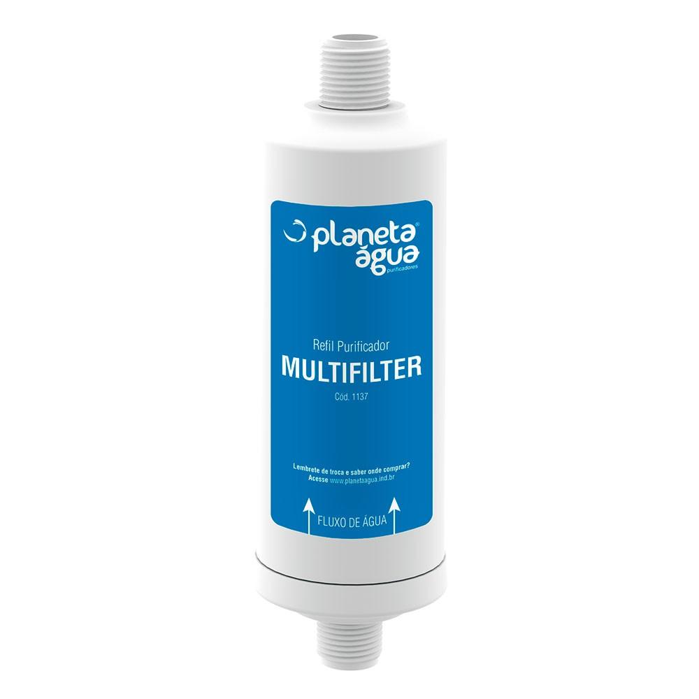 Refil para Purificador Multifilter Planeta Água