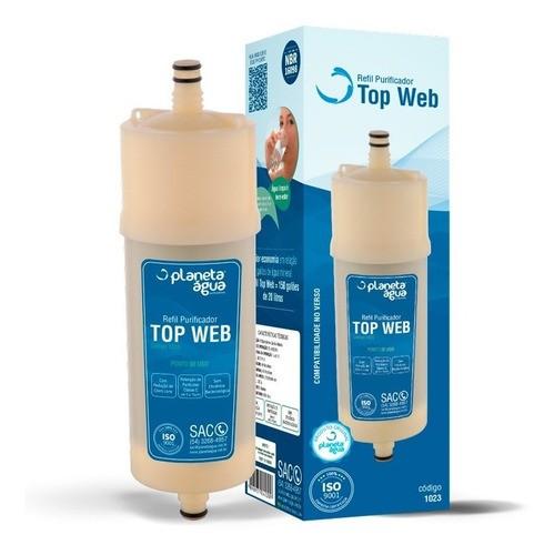 Refil Purificador Europa Top Web Planeta Água
