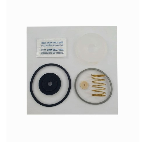"Reparo Válvula Descarga Lorenzetti P20 PVC 1.1/2"" Original"