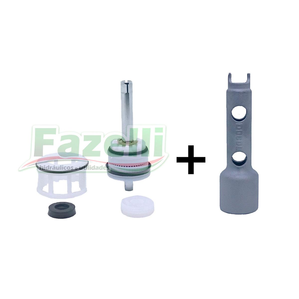 Reparo Válvula Docol 1.1/4 + Chave Manutenção Docol Original